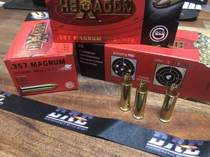 GECO .357 Magnum HEXAGON 180 Grain, 50 ptr