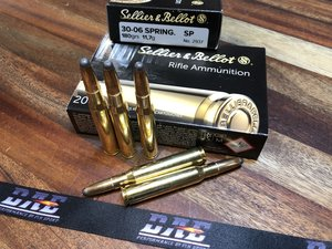 S&B .30-06 180Grs/11,7g SP 20 ptr JAKTAMMUNITION
