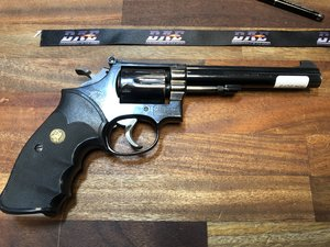 "Smith & Wesson m/14, 6"", .38 spl"