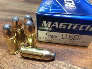 Magtech 9S, 9x19 JSP 50 ptr