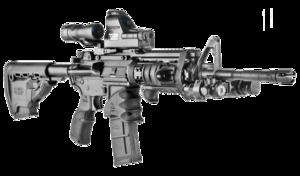 AGR43, Rubberized Pistol Grip for AR15