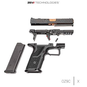 ZEV Optimized Barrel G17 Gen1-4, BLK