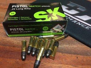 SK .22 Lr, Pistol Match Spezial, 50 ptr