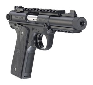 Ruger MKIV 22/45 Tactical BLK .22 Lr,