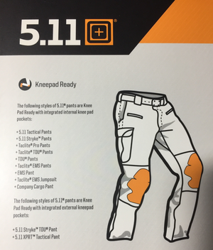 5.11 Neoprene Kneepads