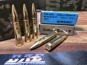 S&B .300 AAC SUBSONIC (300 BLACKOUT) 200 grain, 20 ptr