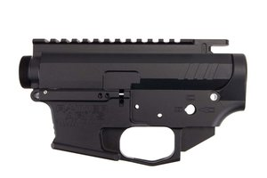 Rainier Arms 9MM Billet Receiver Set - Black