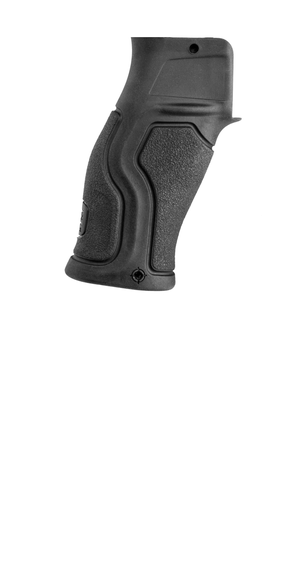 GRADUS FBV, SPECIAL PLATFORM Rubberized Reduced Angle Ergonomic Pistol Grip AR