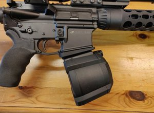 Infitech AR15 Low Profile Magwell