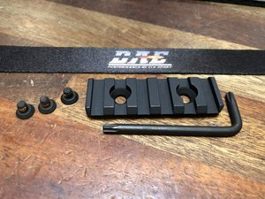 LWRC 2 Hole Rail Picatinny REPR Kit