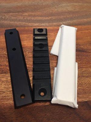 Framstocksskena Picatinny till Browning Bar Hand Guard