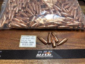 """KULA PPU .30"""" FMJ-BT .308"""", 500 st"""