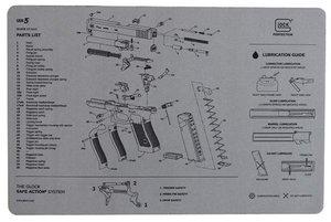 Glock vapenvårdsmatta Gen5