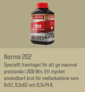 NORMA 202 0,5 kg