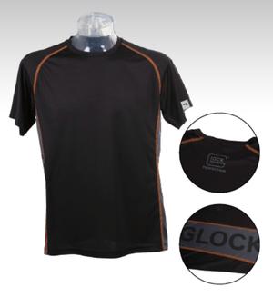 T-Shirt GLOCK Functional, Men BLK /GREY