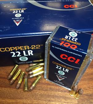 CCI COPPER-22, .22 Lr CHP - BLYFRI