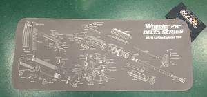 Vapenvårdsmatta AR15, 123x50 cm