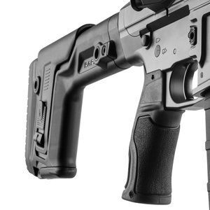 GRADUS, Rubberized Reduced Angle Ergonomic Pistol Grip AR