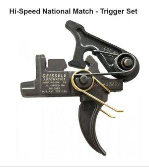 Geissele Hi-Speed National Match Trigger AR15/10