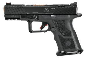 OZ9c Pistol, Compact, Black Slide, Bronze Barrel