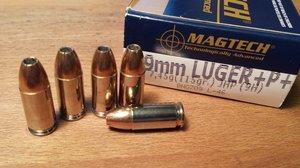 Magtech 9H, 9x19 +P+ 115 Gr JHP 50 ptr