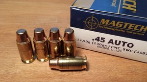 Magtech 45B, .45 ACP, FMC-SWC 50 ptr