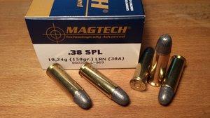 Magtech 38A .38 SPL, LRN 50 ptr