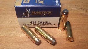 Magtech 454A, .454 Casull SJSP 260G 20 ptr