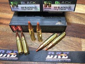 Hornady BLACK .300 BLK 110 Grain V-MAX