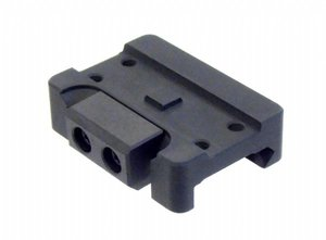 AIMPOINT MICRO MOUNT ON RIFLE