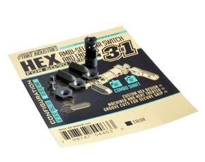 Strike lndustries HEX Selector Switch 60/90 degree, 3 in 1