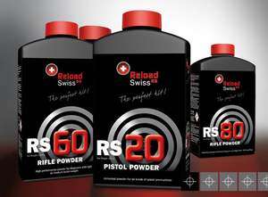 Reload Swiss RS50 Gevärskrut