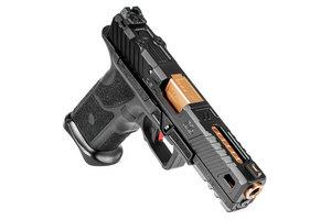 OZ9 Pistol, Standard, Black Slide, Bronze Barrel