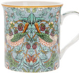 William Morris Teal Strawberry Thief - Mugg
