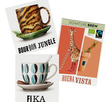 Kaffepaket med 3 olika sorter - Johan & Nyström