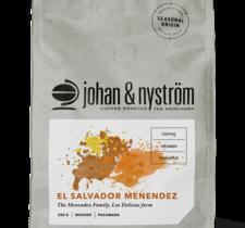 Kaffebönor El Salvador Menendez 250g - Johan & Nyström