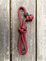 Lead rope connector for neck ropes