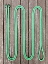 Mecatetygel med ändknopar - 14 mm, 6,70 m, Grön