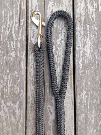 Leash with bolt snap - 10 mm