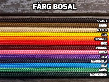 Rope bosal with rein loops
