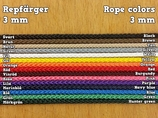 3 mm rope by the meter