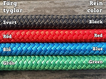 Loop reins with permanent snaps and middle marker