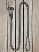 Loop reins with removable snaps