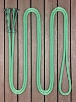 Mecatetygel med tofsar - 14 mm, 6,70 m, Grön