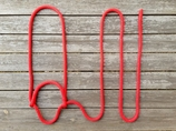 Quick halter - 14 mm, Red