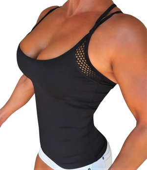 RAW By Adriana Kuhl Tanktop Athletic Black