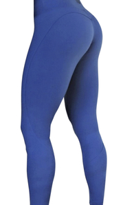 Raw By Adriana Kuhl Vibrant Tights  Ocean Blue