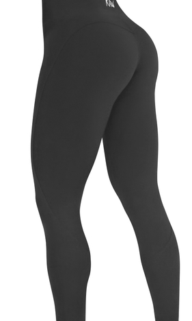 Raw By Adriana Kuhl Vibrant Tights  Black