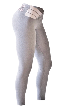 Bia Brazil Leggings 3115 Light Grey/White