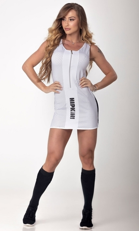 HIPKINI Downtown Fitness Dress White